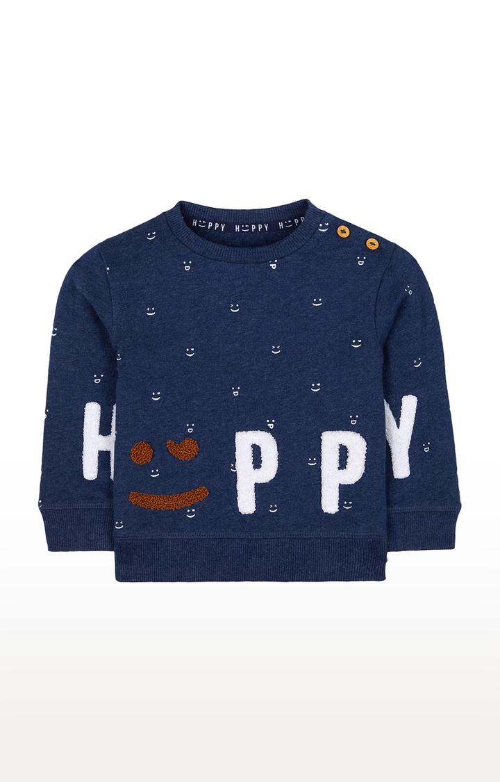 Mothercare | Navy Printed Sweatshirt