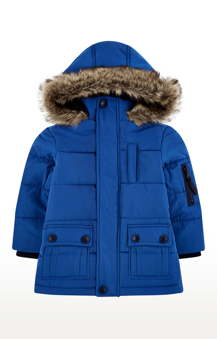 Mothercare | Blue Padded Coat