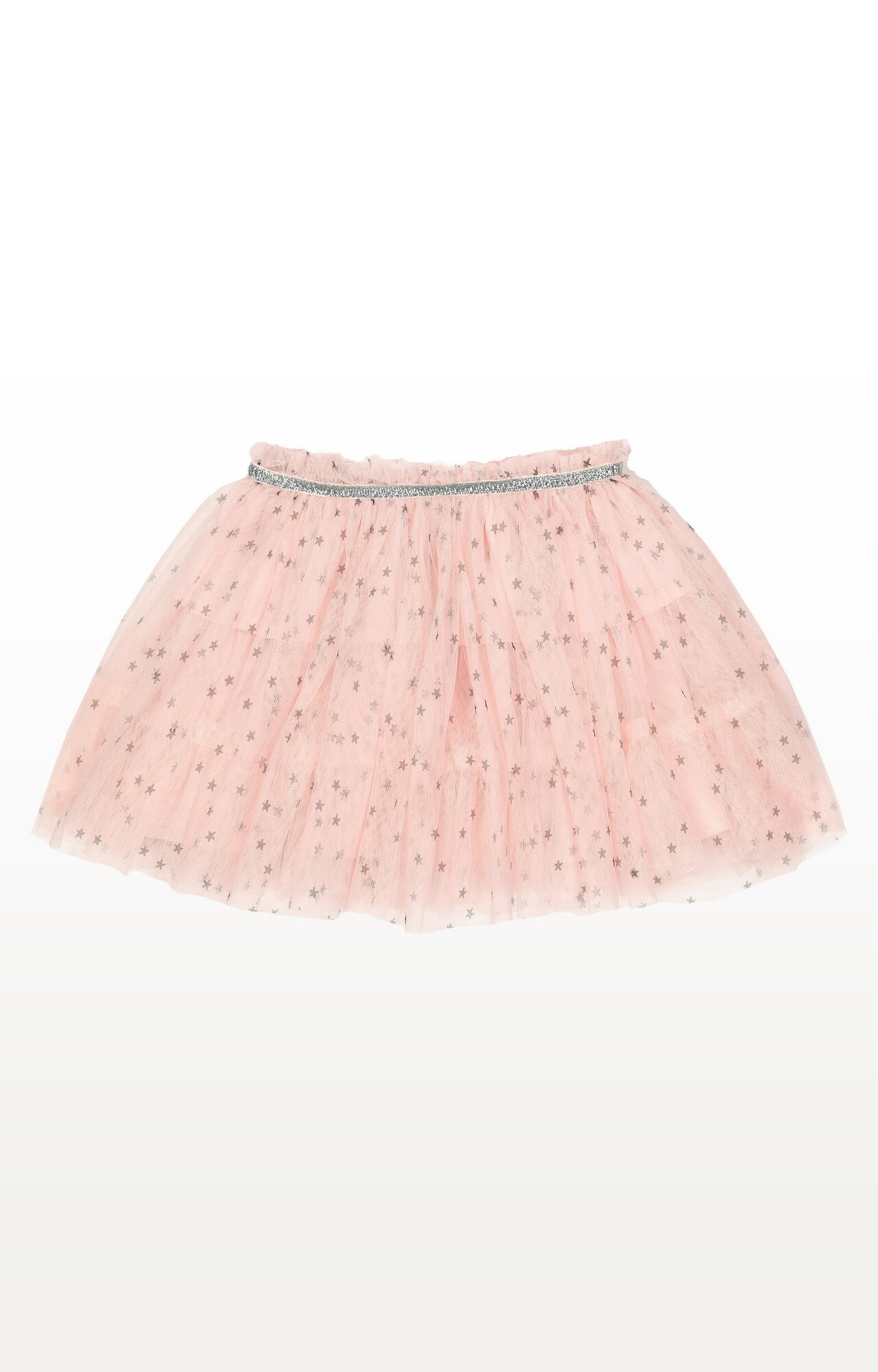 Mothercare | Pink Stars Mesh Skirt