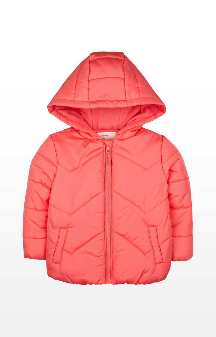 Mothercare   Coral Fleece-Lined Jacket