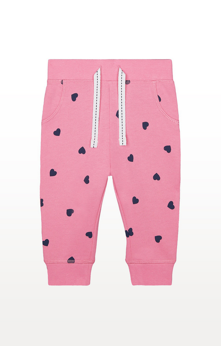 Mothercare   Pink Printed Joggers