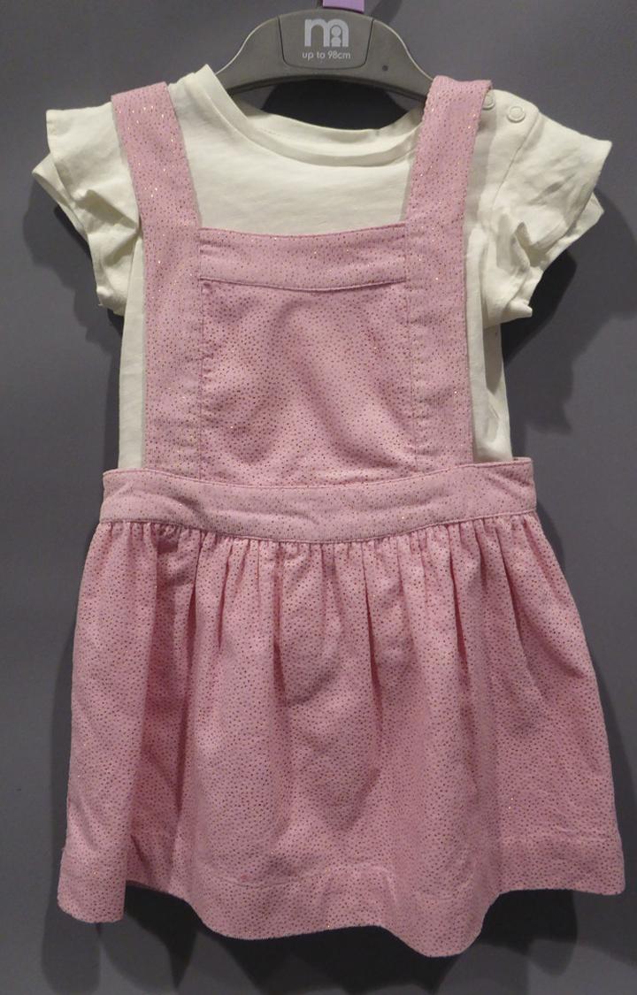Mothercare | Pink Printed Pinafore