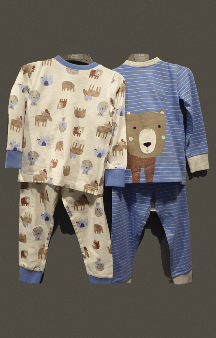 Mothercare | Multicoloured Printed Twin Set - Pack of 2