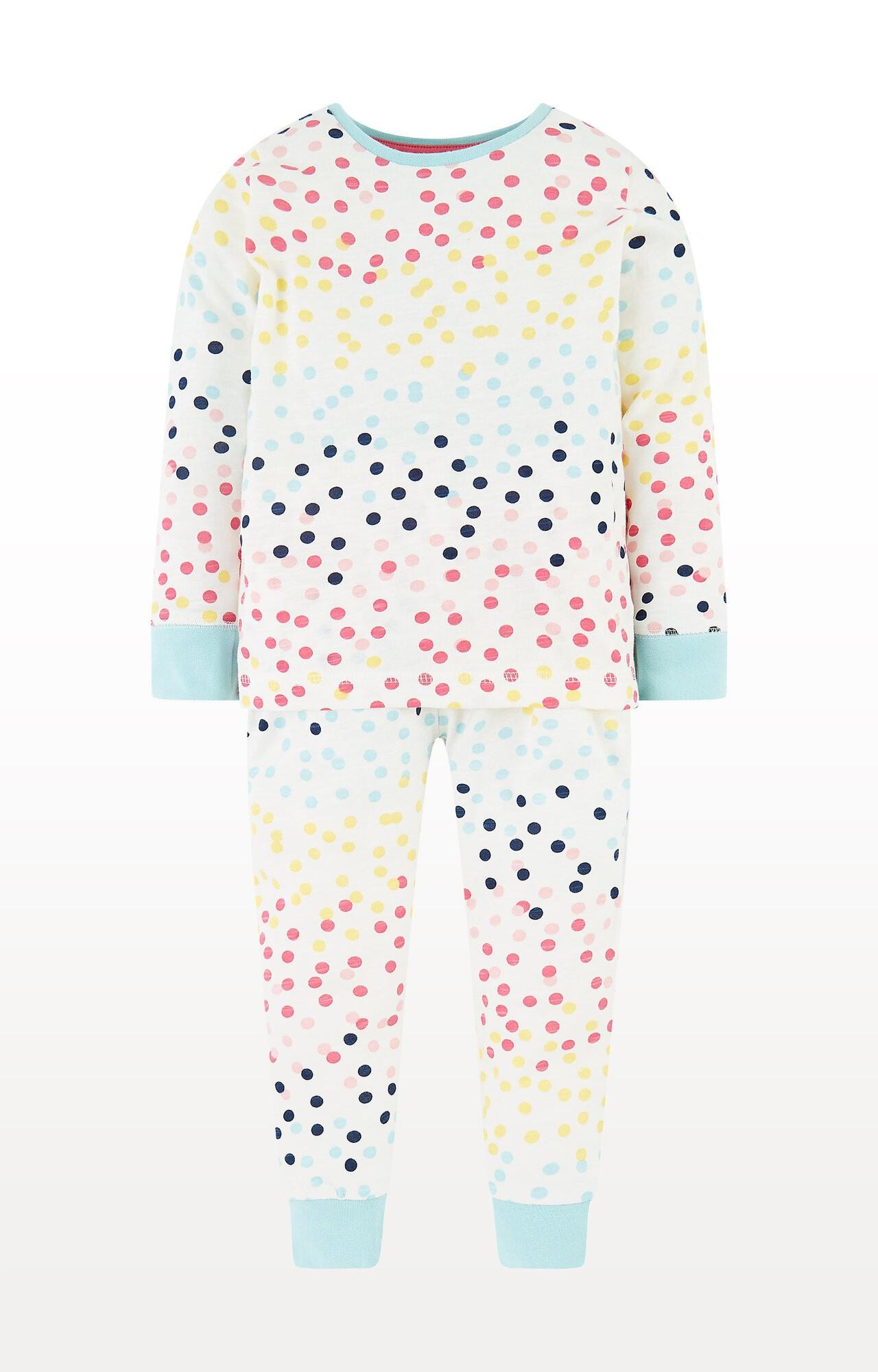 Mothercare | Multicolour Spot Pyjamas