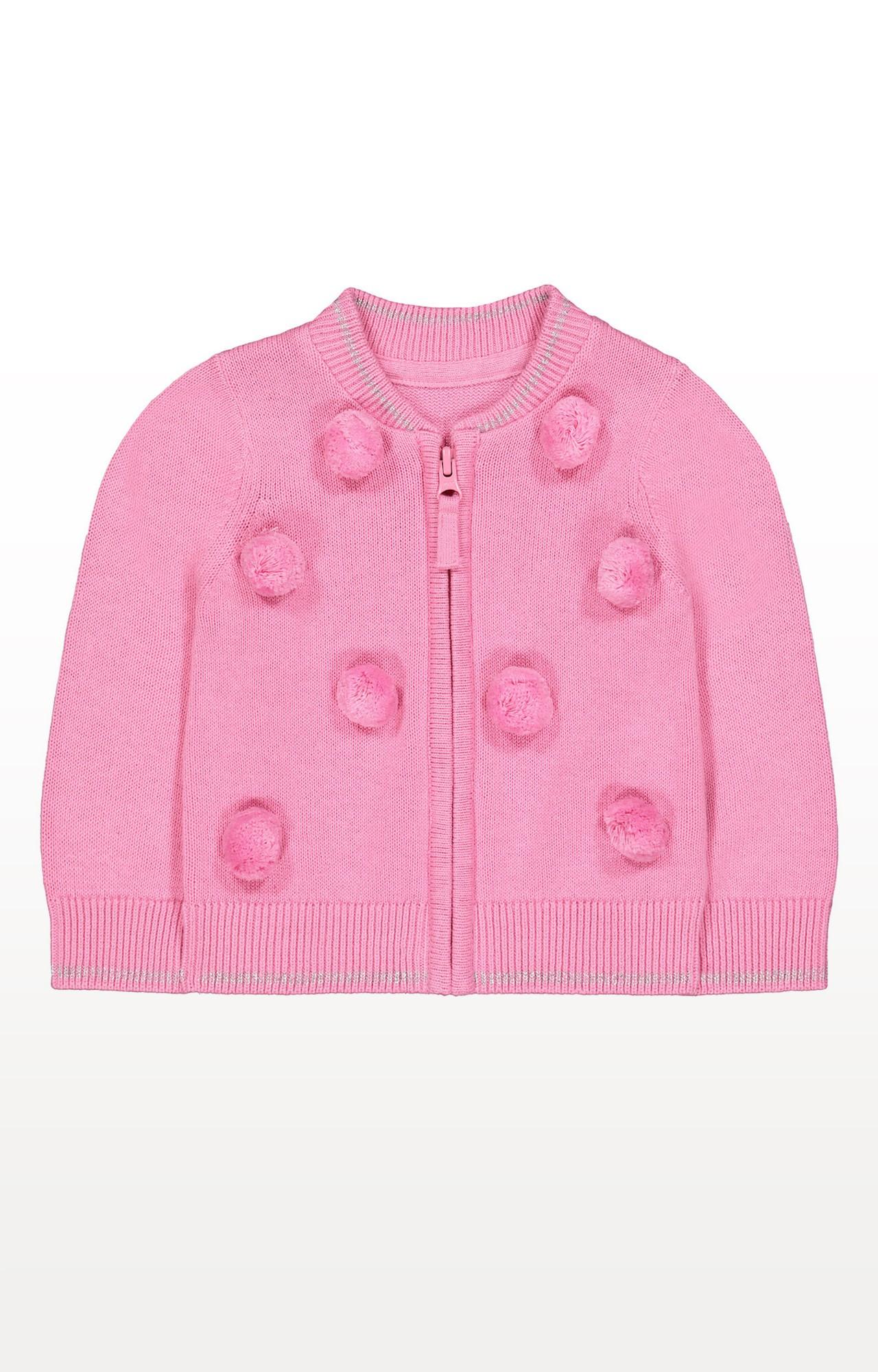 Mothercare | Pink Solid Sweatshirt