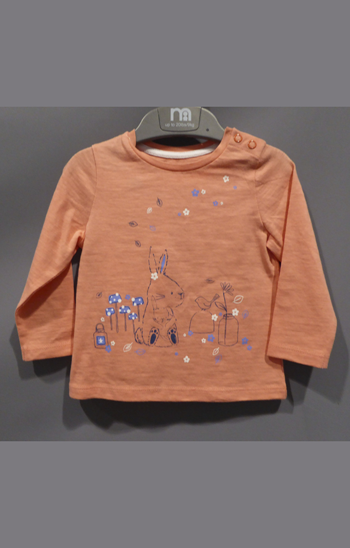Mothercare | Coral Printed Top