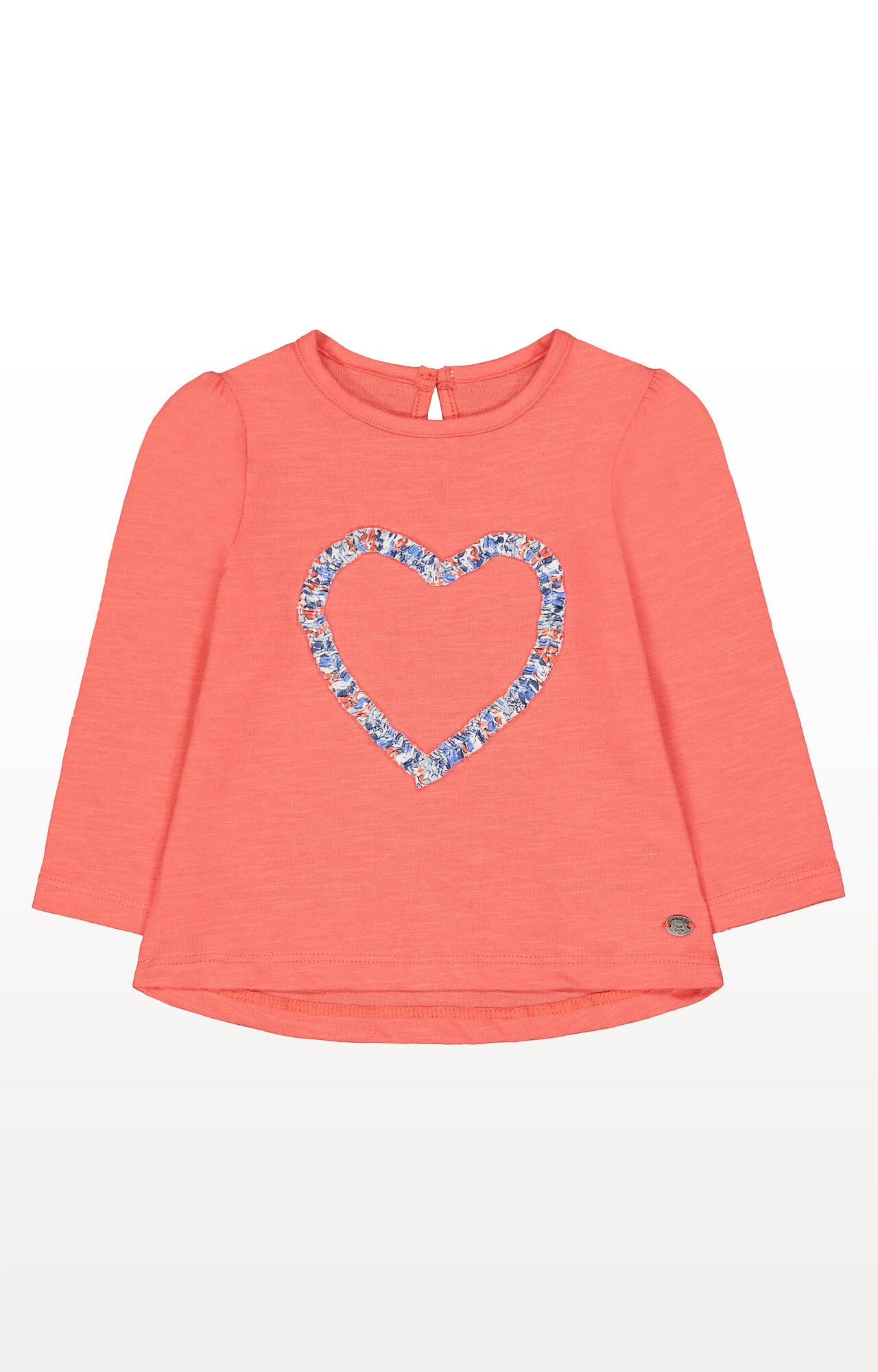 Mothercare | Coral Heart T-Shirt