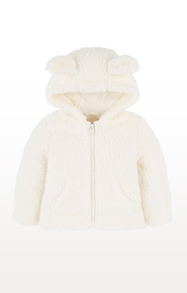 Mothercare | Cream Cuddle Fleece With Ears