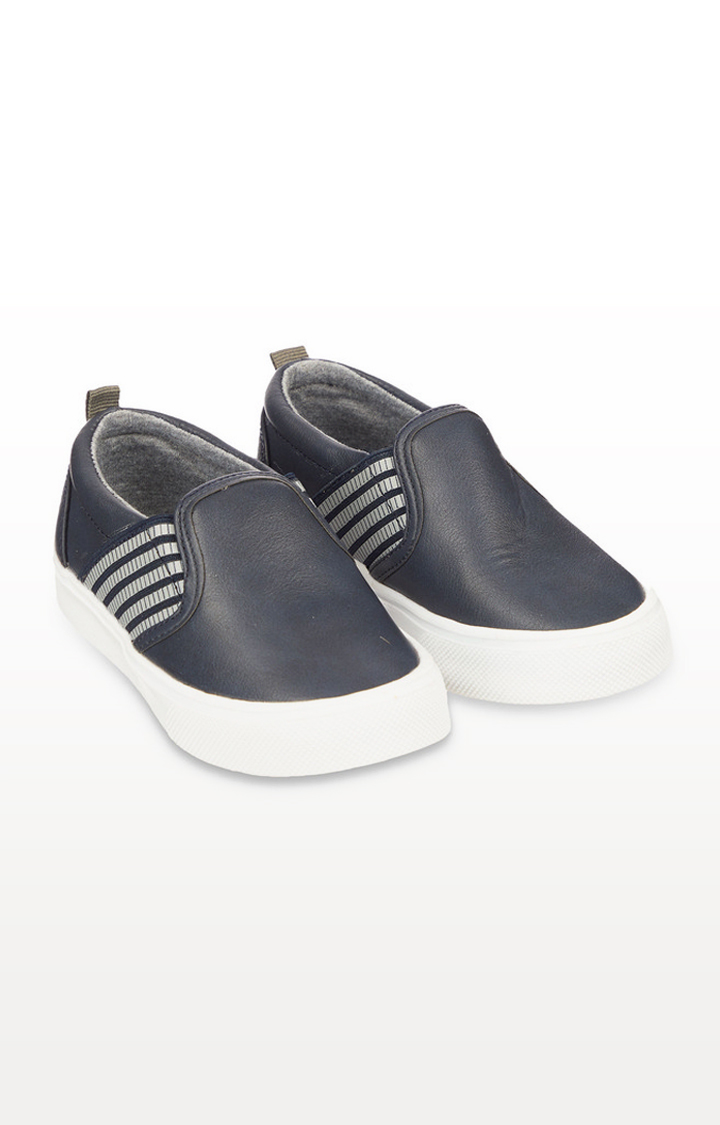 Mothercare   Navy Slip-On Shoes