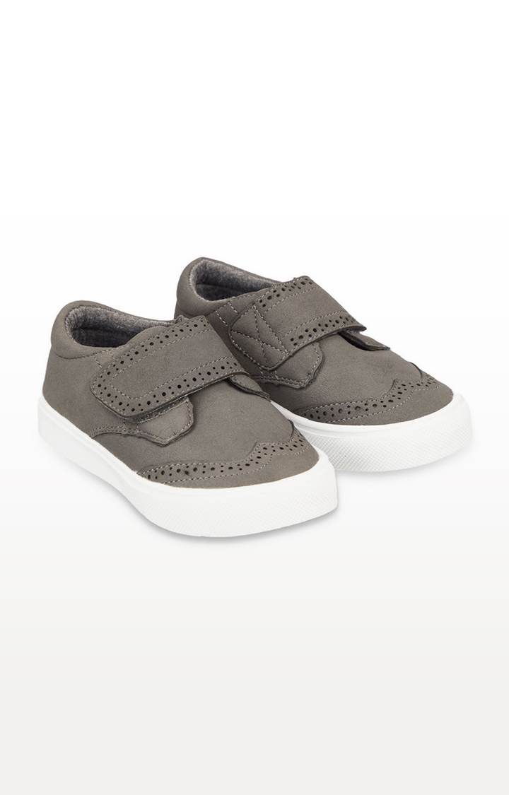 Mothercare | Grey Casual Brogue Shoes