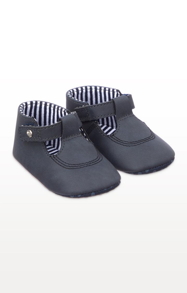 Mothercare | Navy T-Bar Pram Shoes