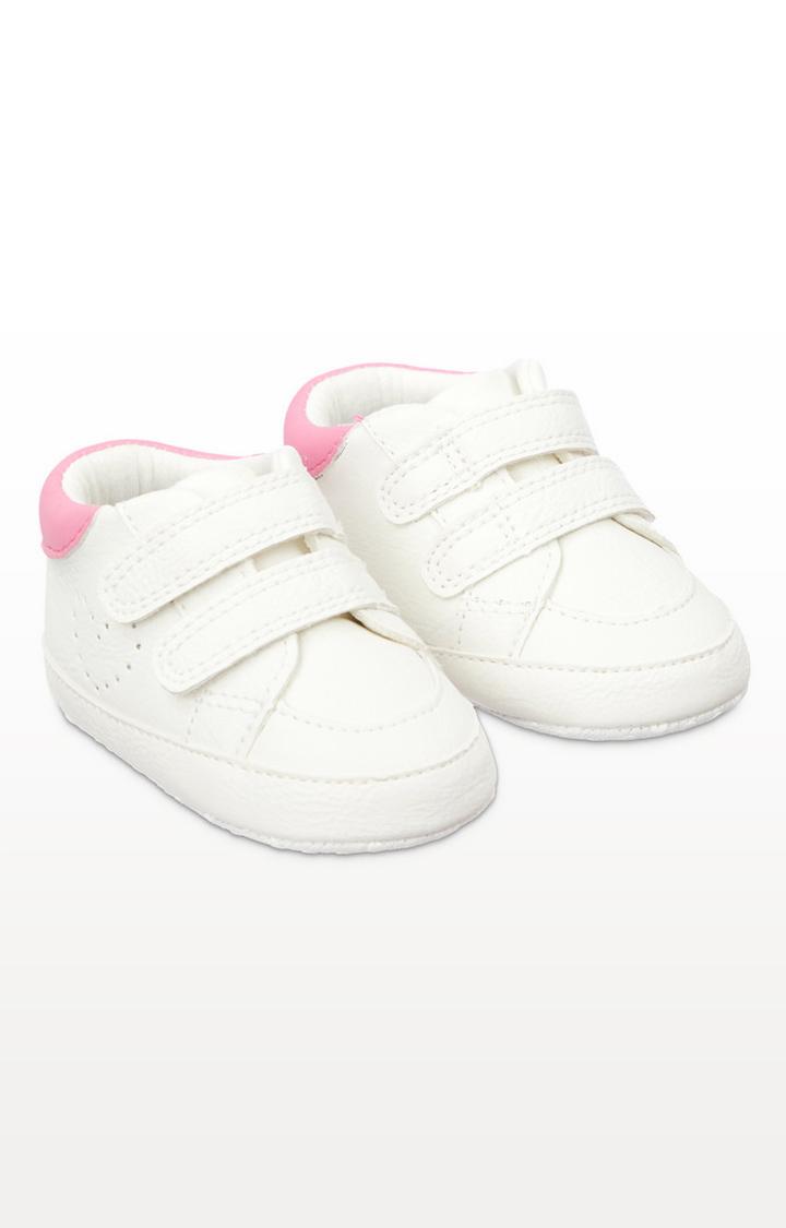 Mothercare   White Pram Trainers