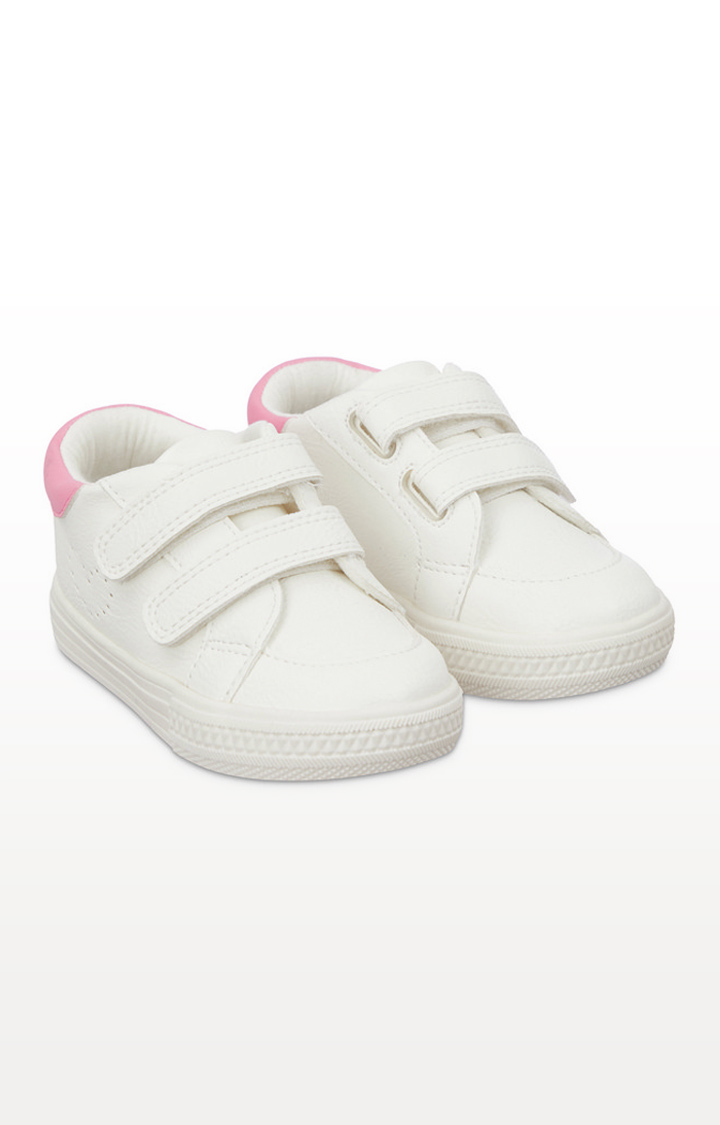Mothercare | First Walker White Trainers