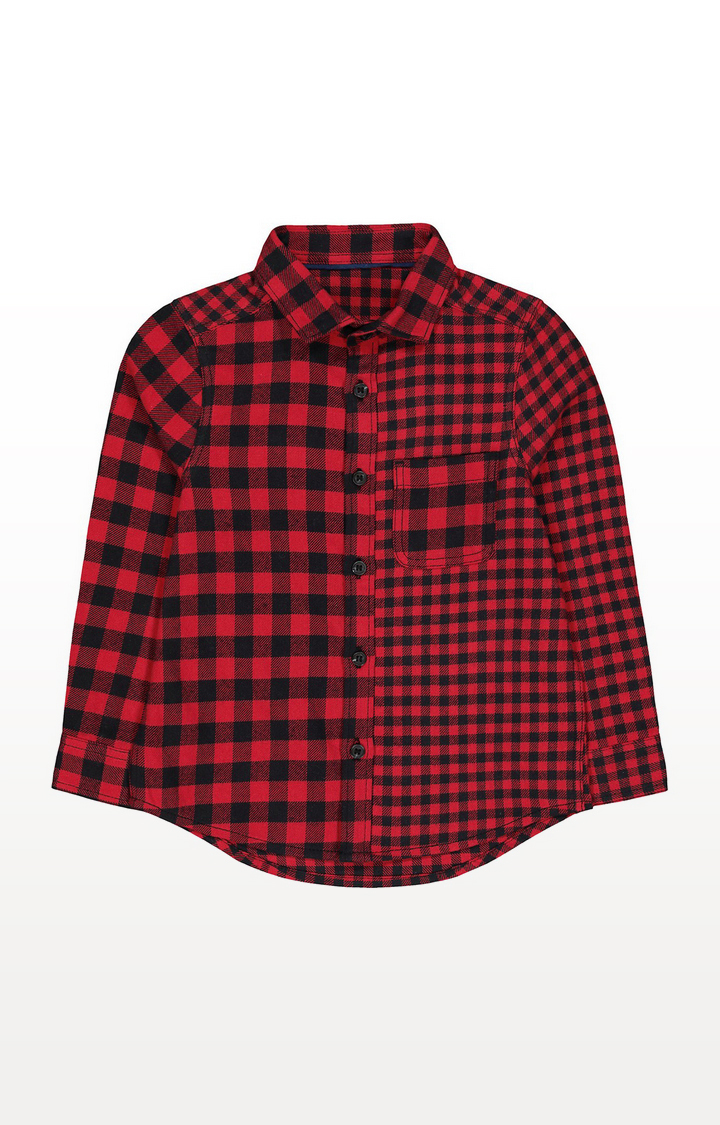 Mothercare | Red And Black Check Shirt