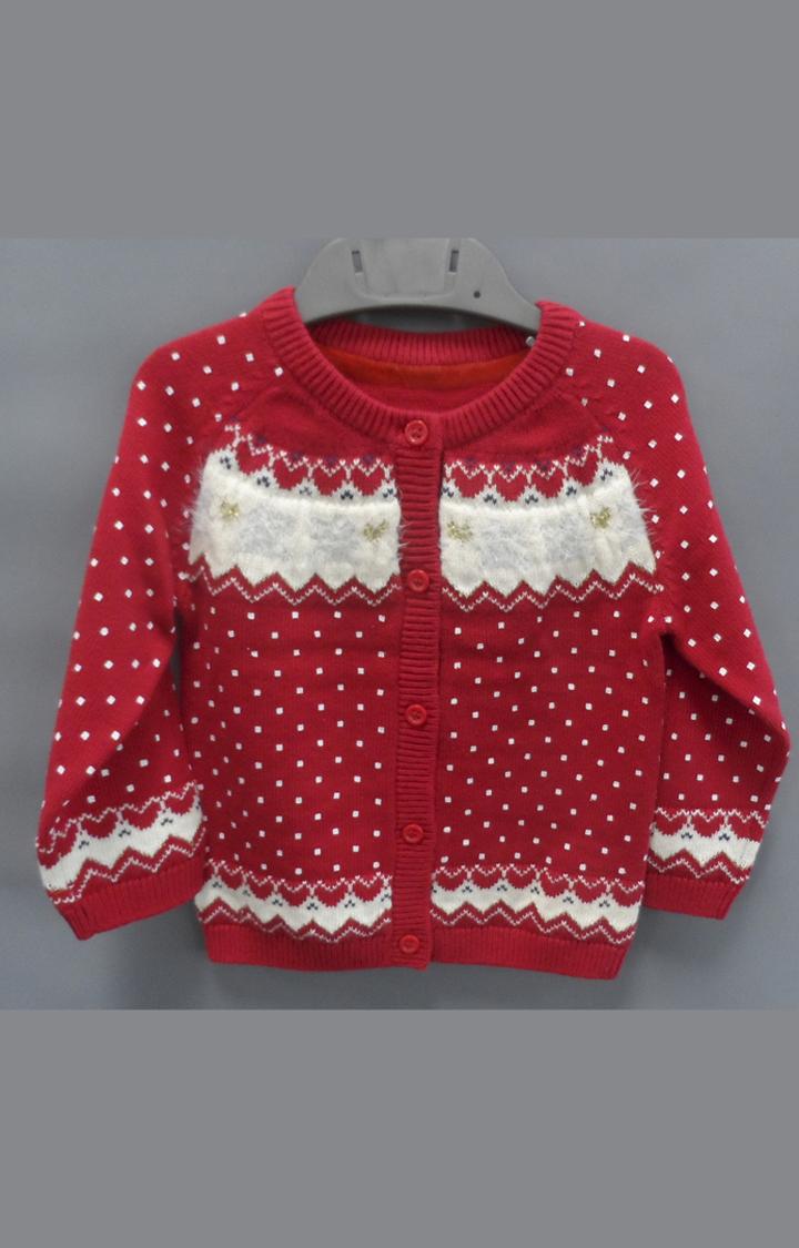 Mothercare   Red Printed Sweatshirt