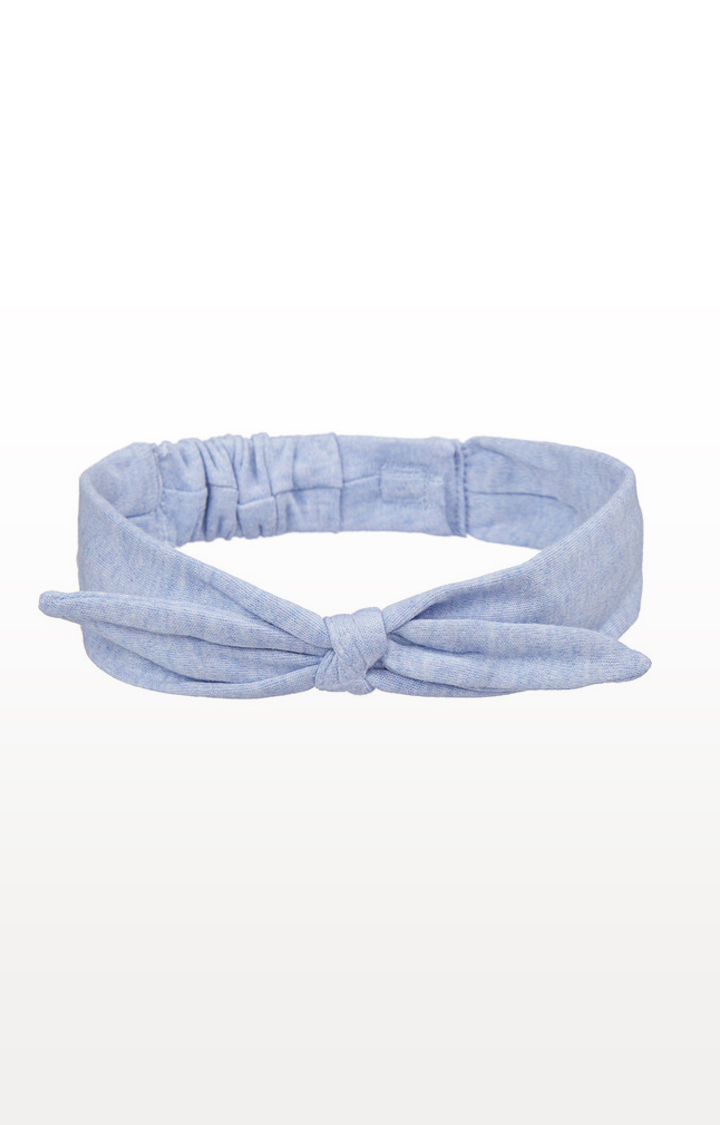 Mothercare   Blue and Floral Bow Headbands - 2 Pack