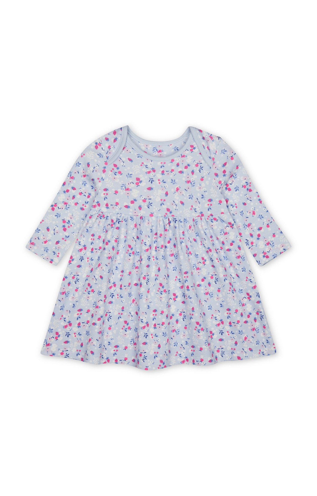 Mothercare | Blue Printed Dress