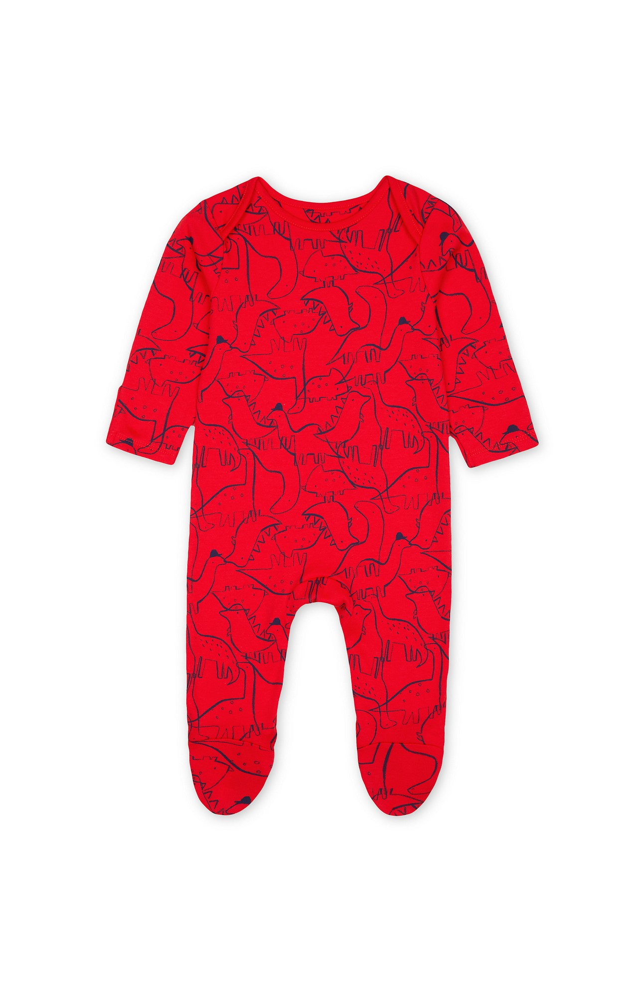 Mothercare   Red Printed Romper