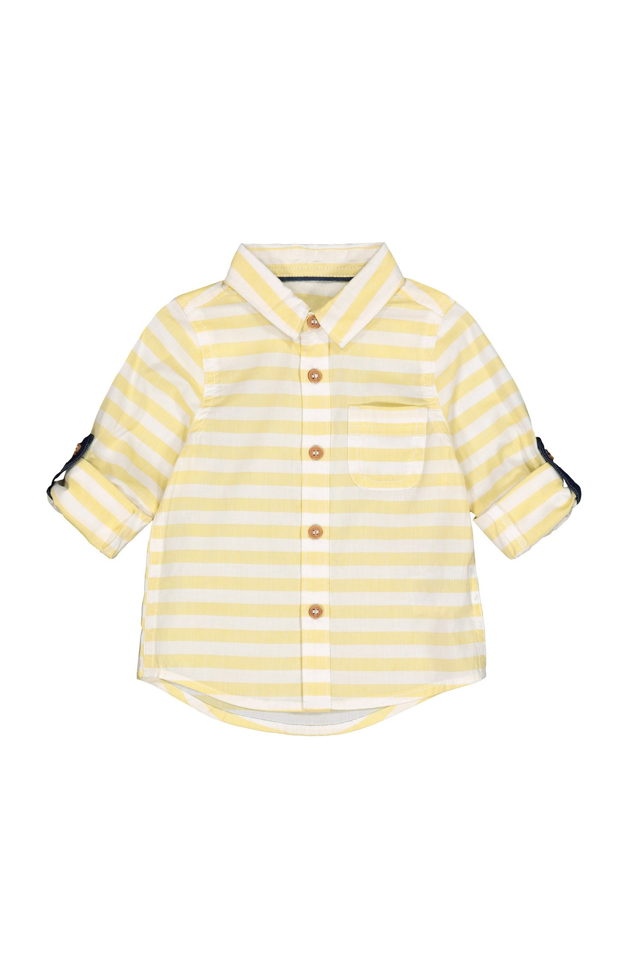 Mothercare | Yellow Striped Shirt