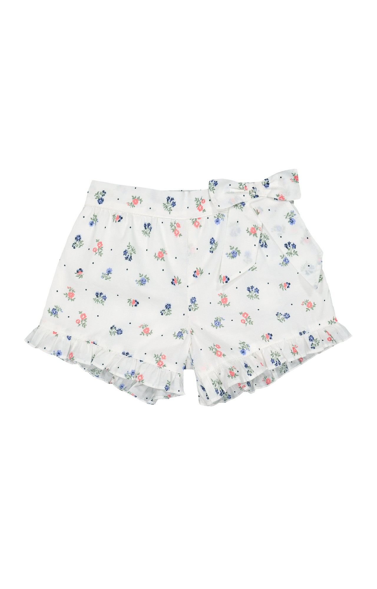 Mothercare | White Printed Shorts