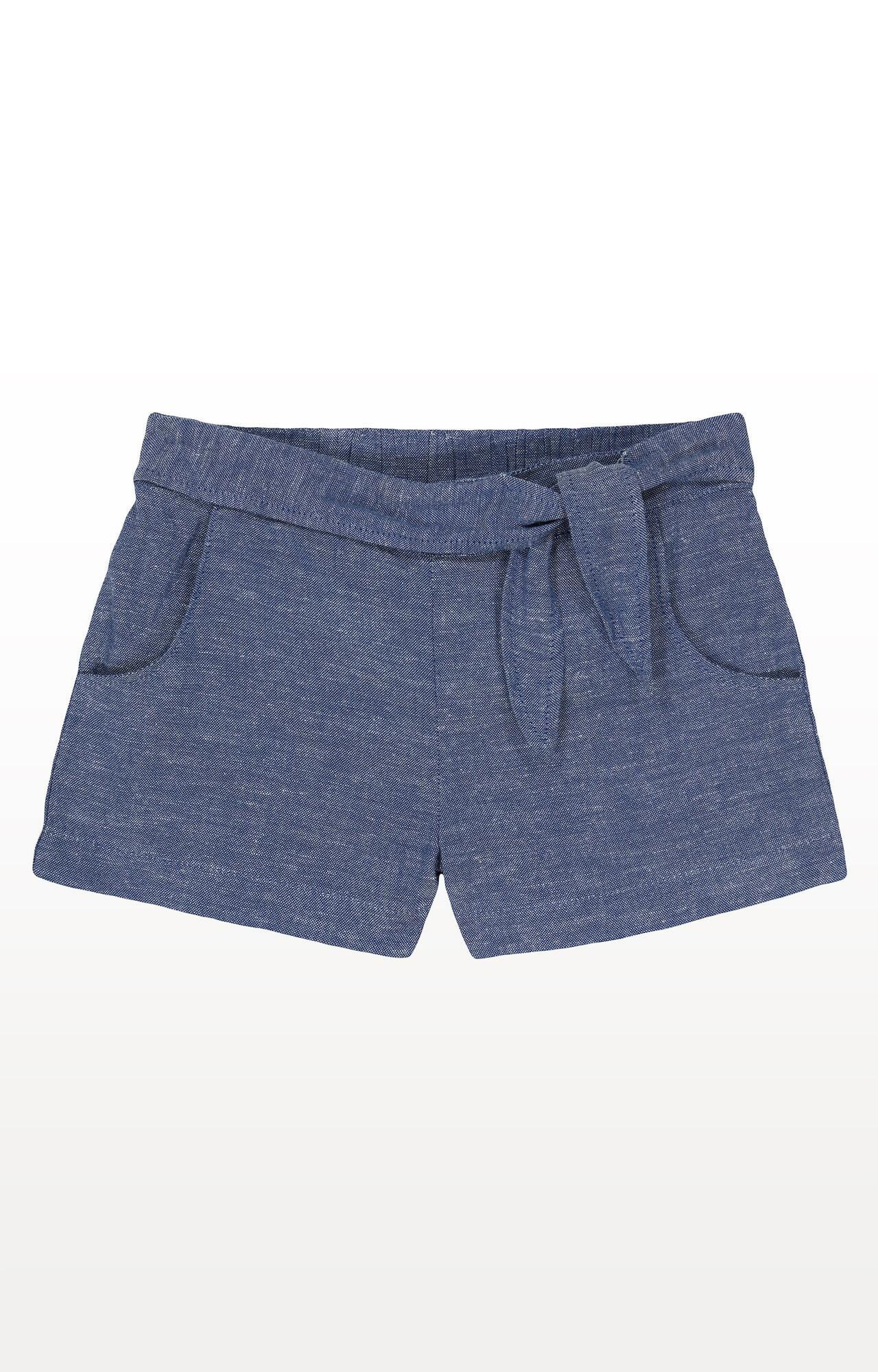 Mothercare   Chambray Knot-Waist Shorts