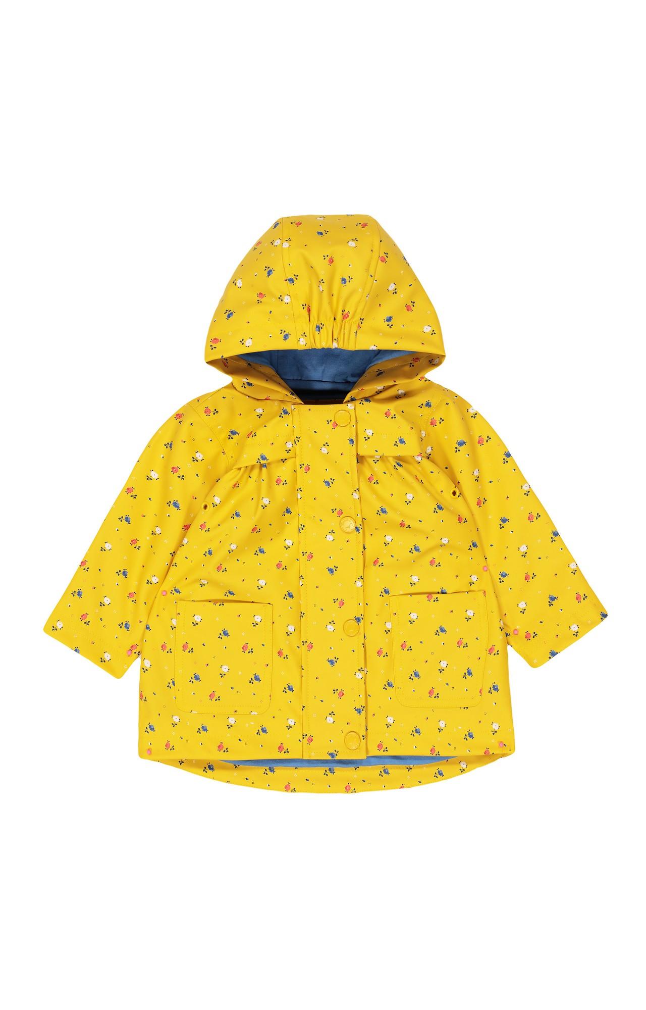 Mothercare | Mustard Printed Hoodie