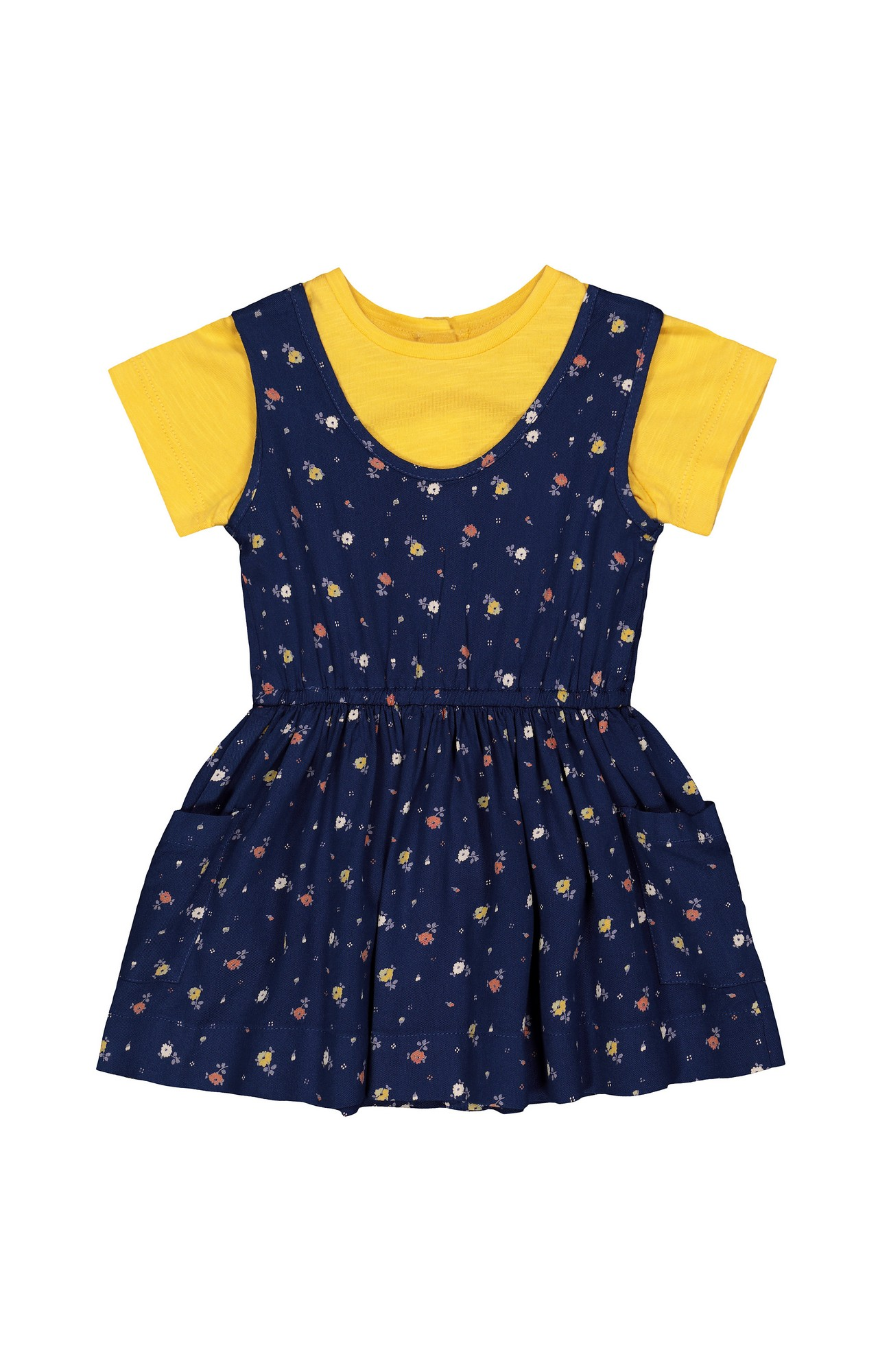 Mothercare | Navy Printed Frock