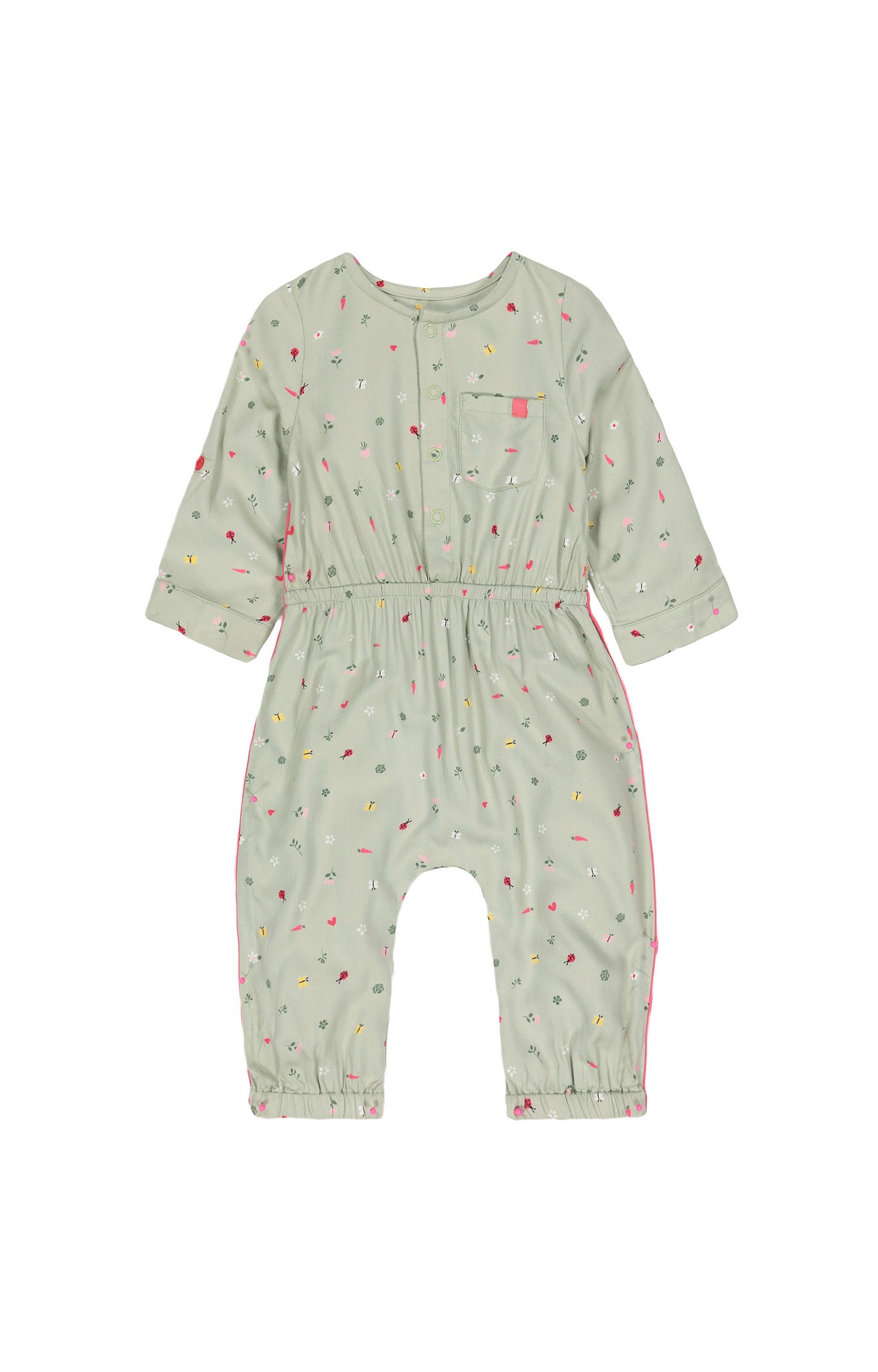 Mothercare   Olive Printed Jumpsuit
