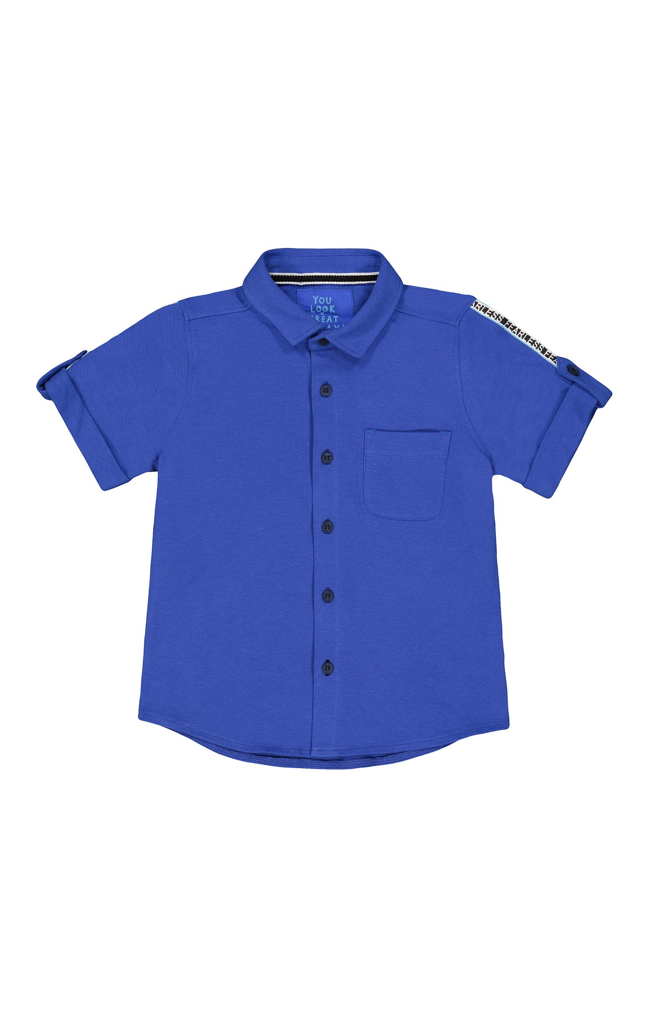 Mothercare | Blue Solid Shirt