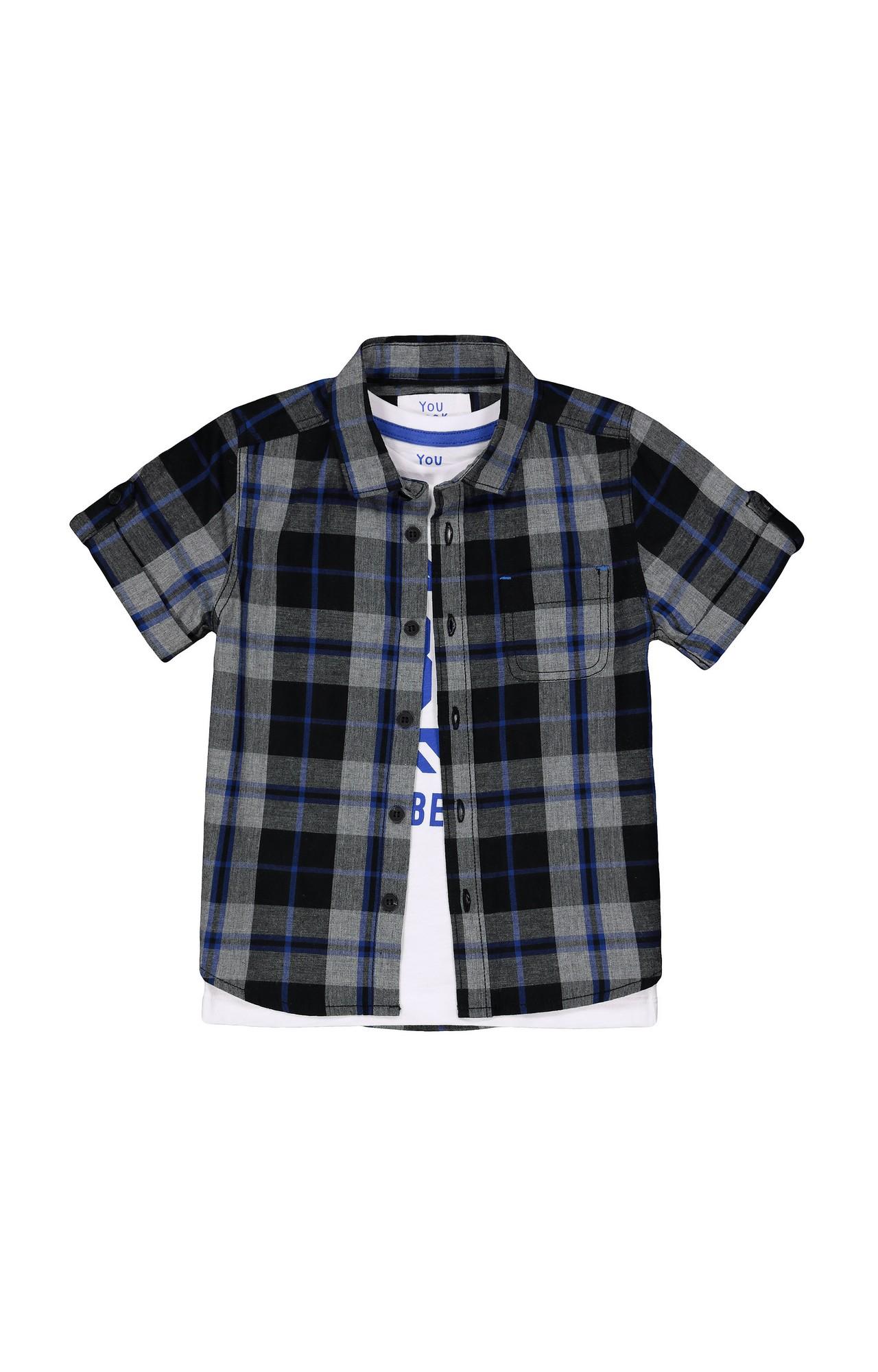 Mothercare | Black Checked Shirt