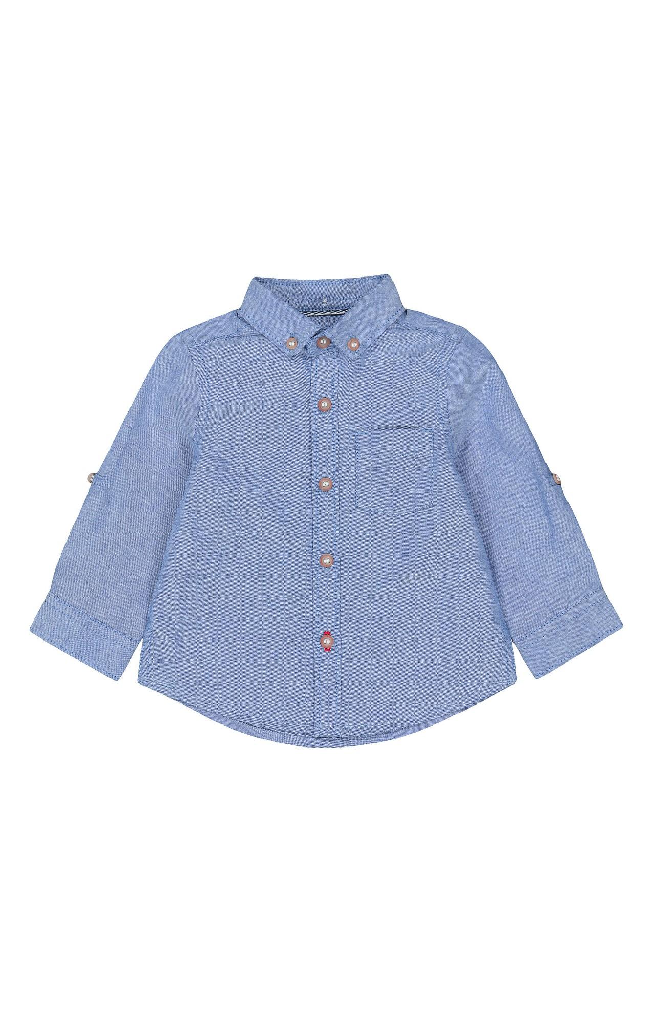Mothercare | Blue Melange Shirt