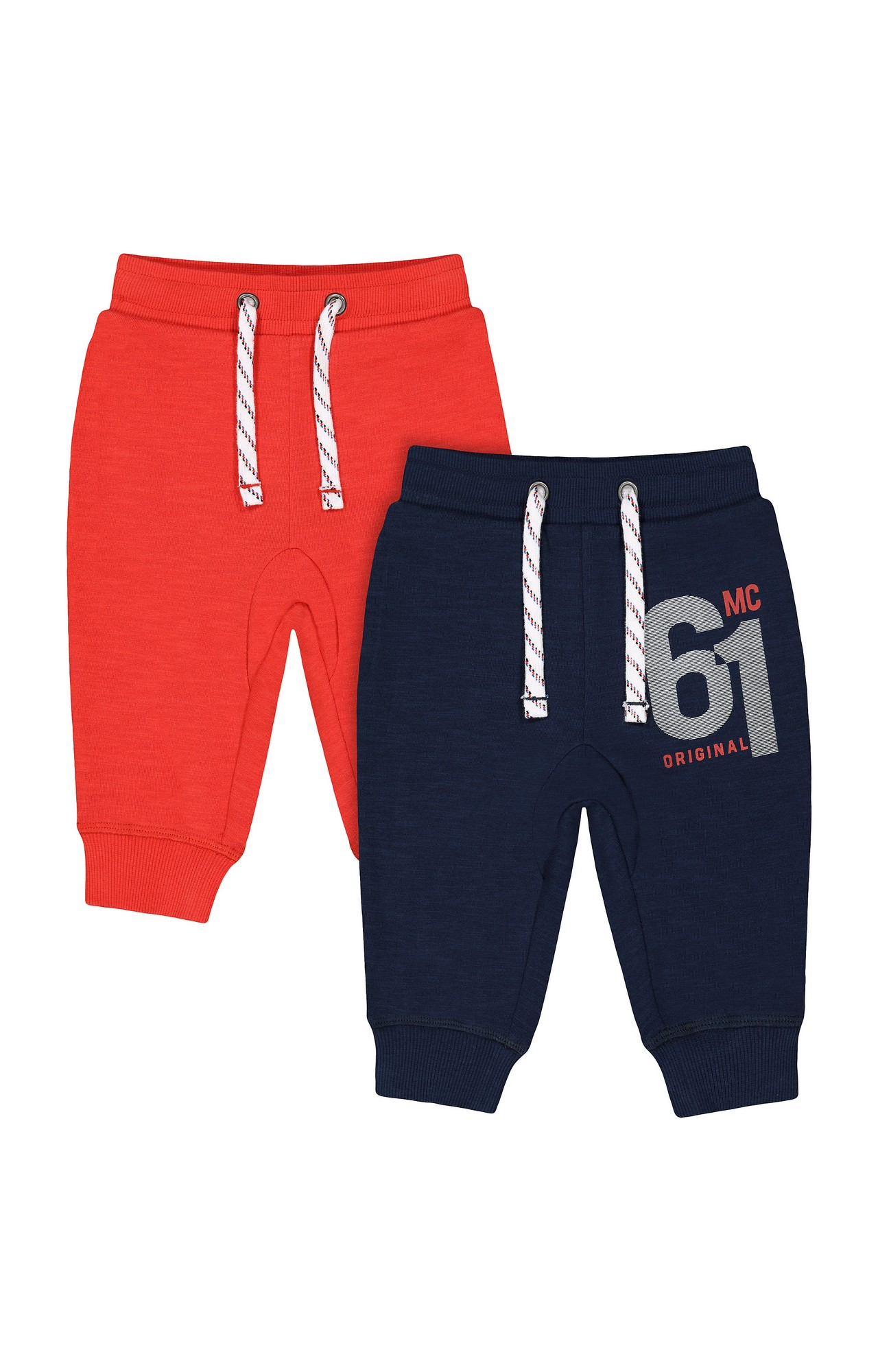 Mothercare | Multicoloured Printed Joggers - Pack of 2