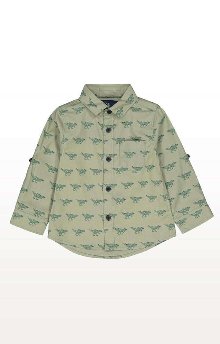 Mothercare | Green Dinosaur Shirt