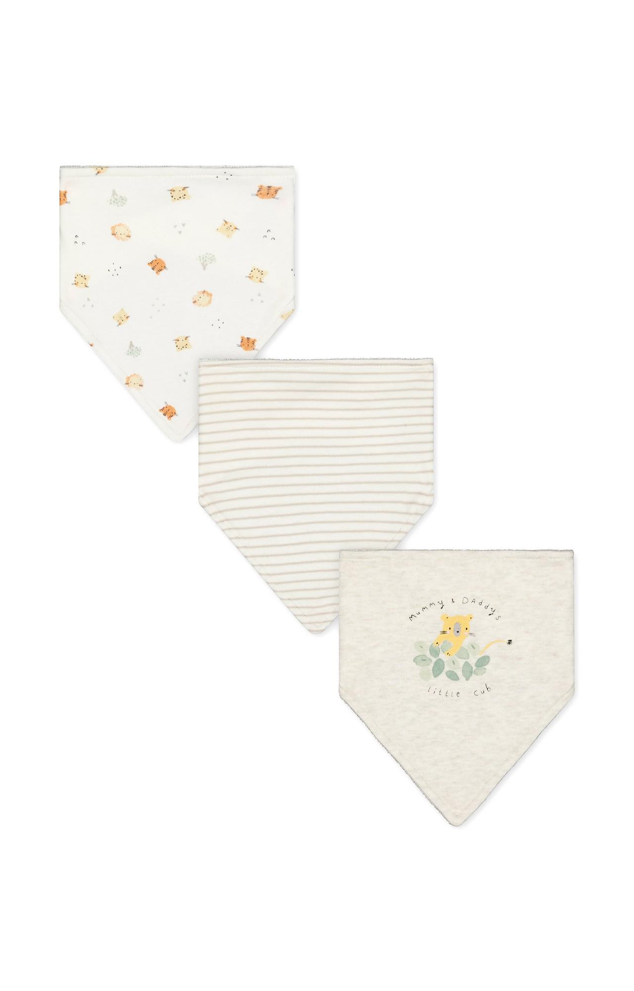 Mothercare | Cream Printed Feeding Bib