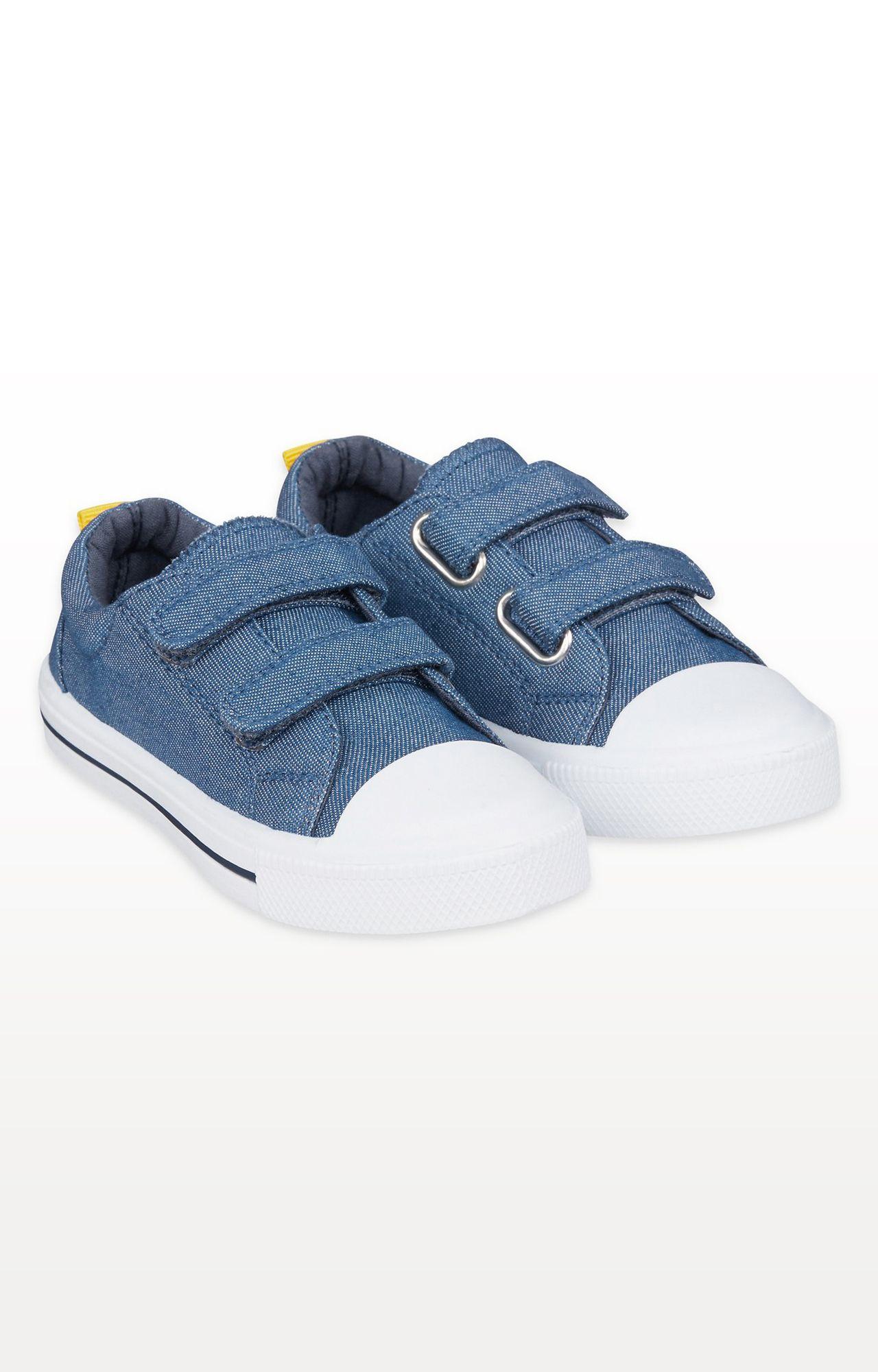 Mothercare   Denim Blue Canvas Shoes