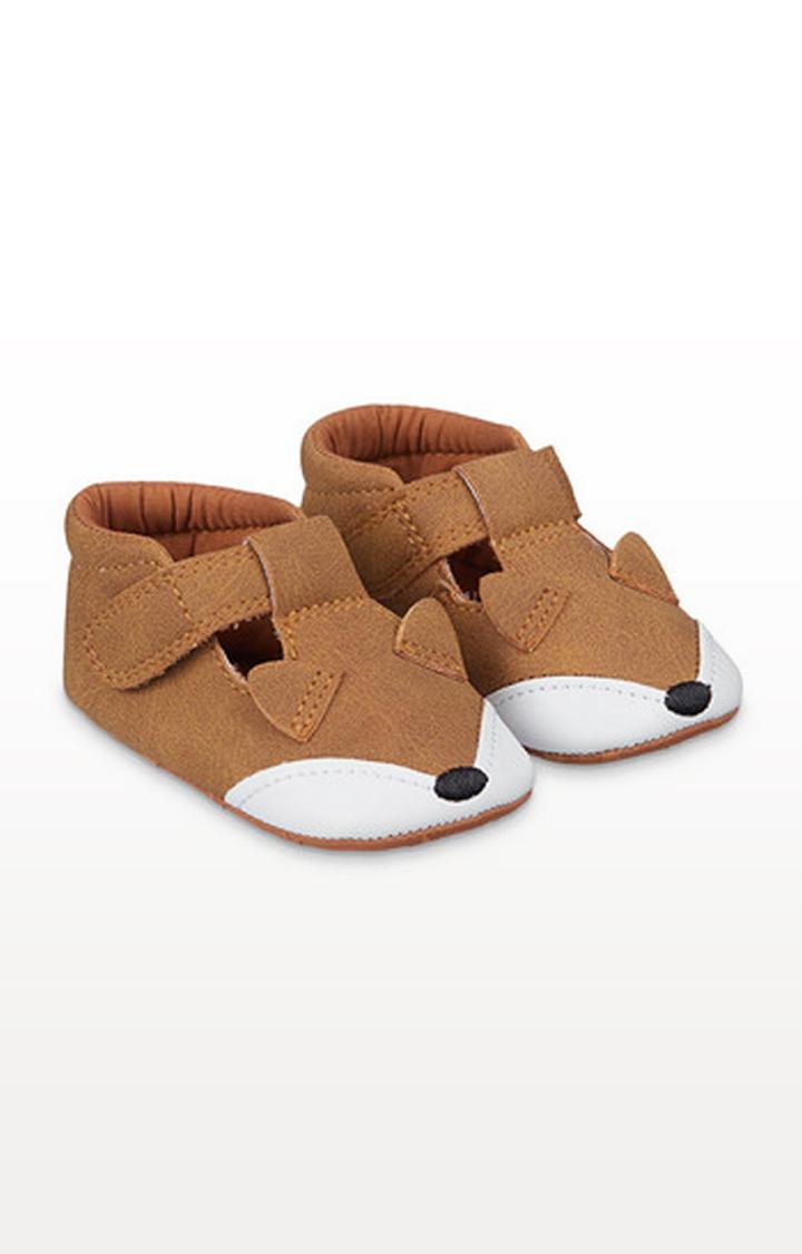 Mothercare | Brown Fox Pram Shoes
