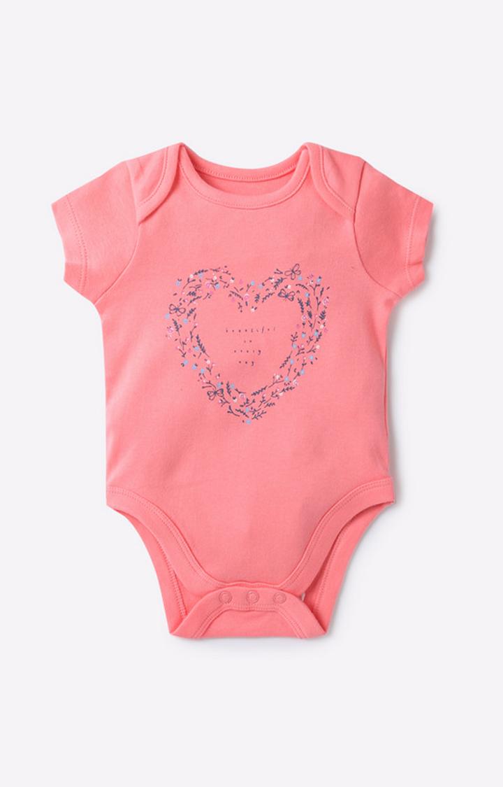 Mothercare | Pink Girl Bodysuit