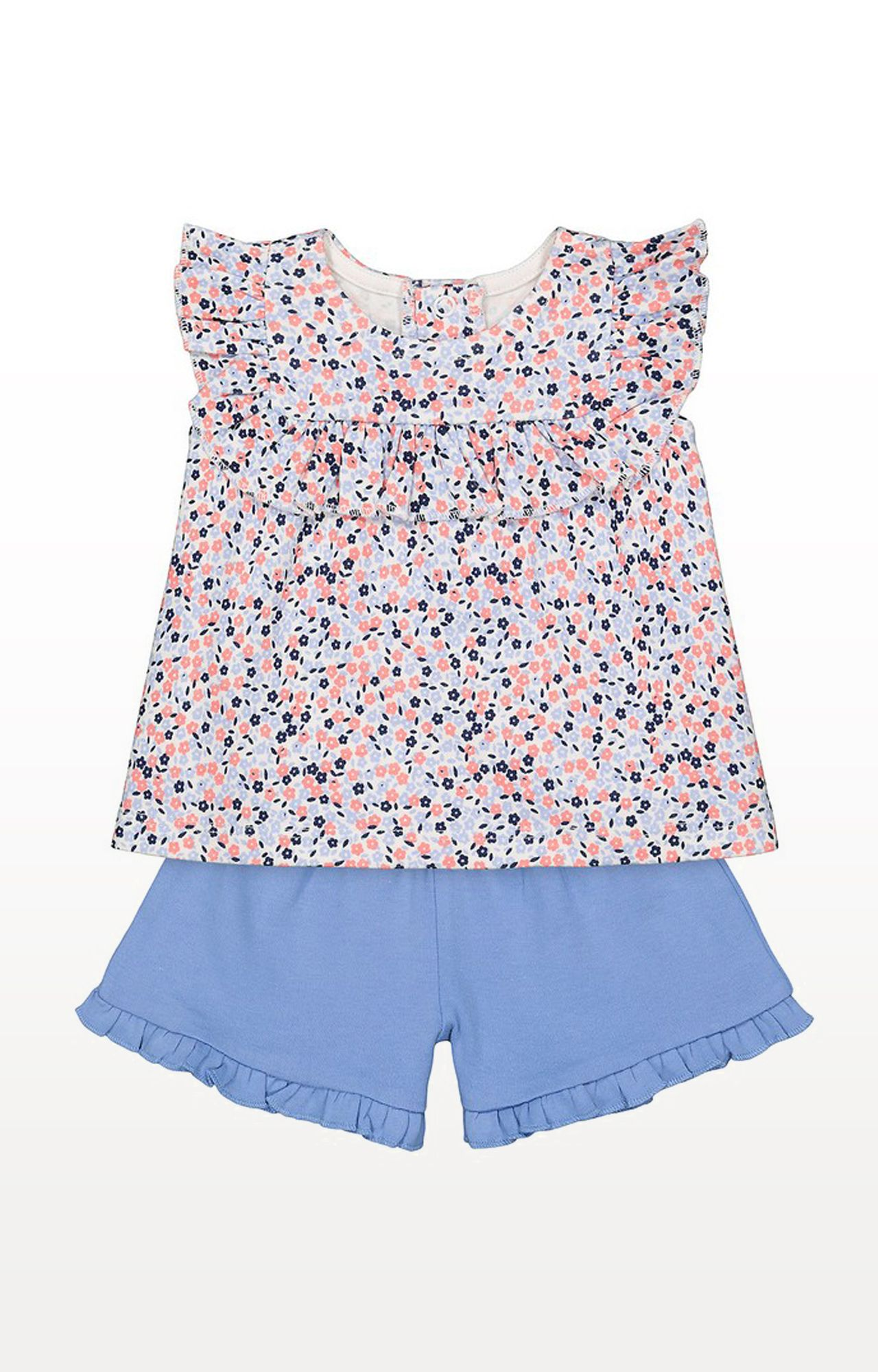 Mothercare   Multicoloured Shorts Set