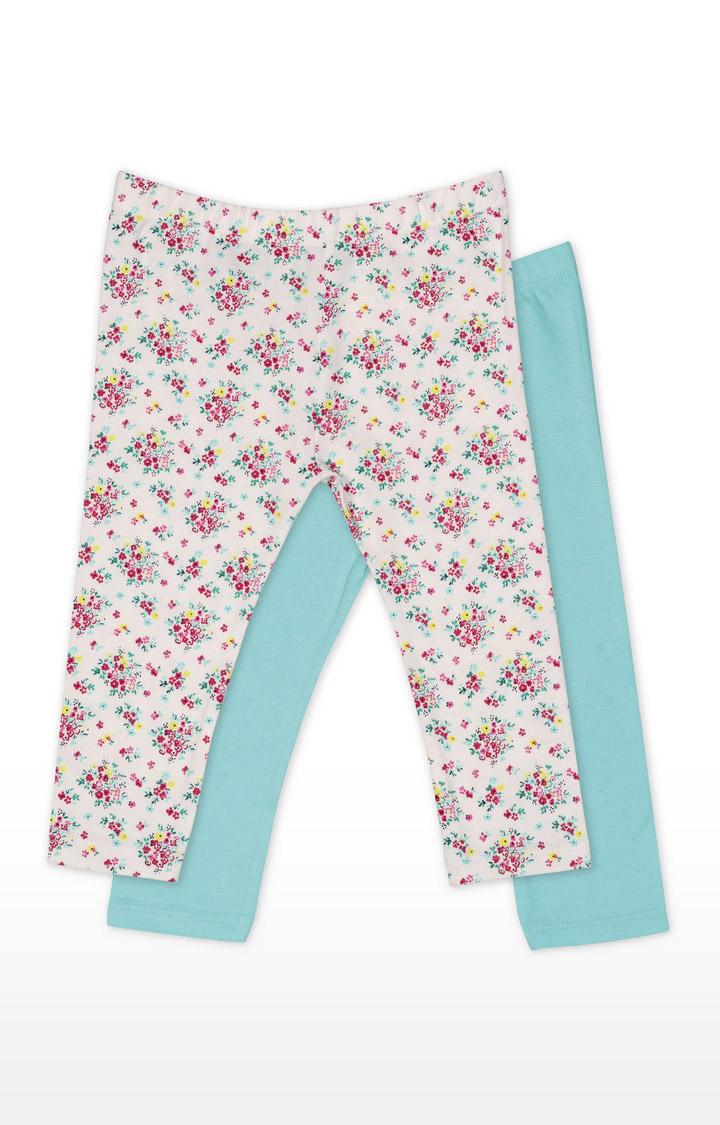 Mothercare   Girls Leggings - Multicoloured