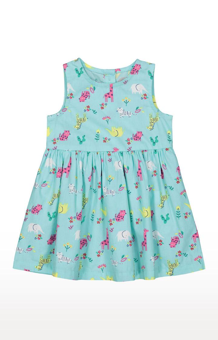 Mothercare | Girls Sleeveless Casual Dress - Blue