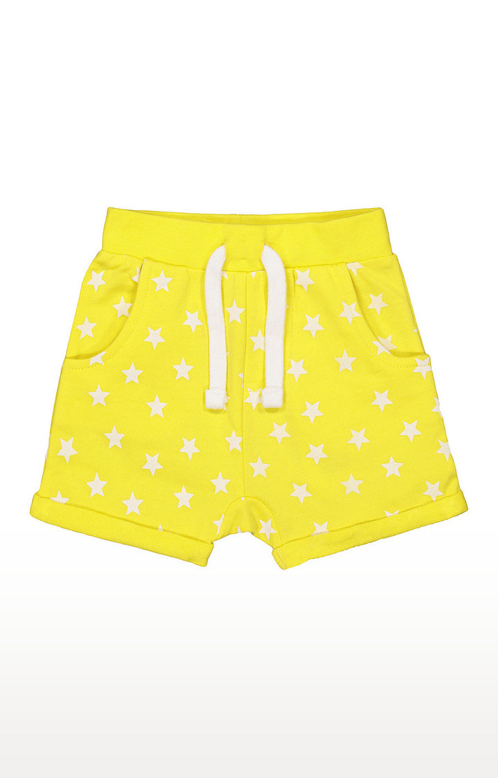 Mothercare | Boys Shorts - Printed Yellow