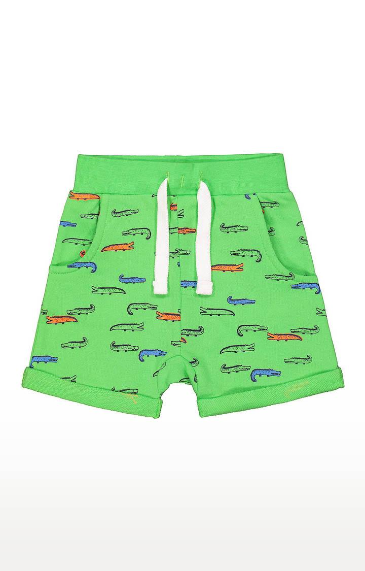 Mothercare | Boys Shorts - Printed Green