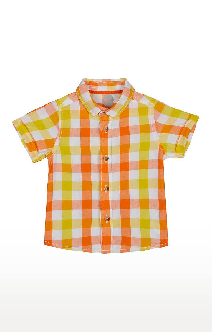 Mothercare | Boys Half Sleeve Shirt - Multicoloured