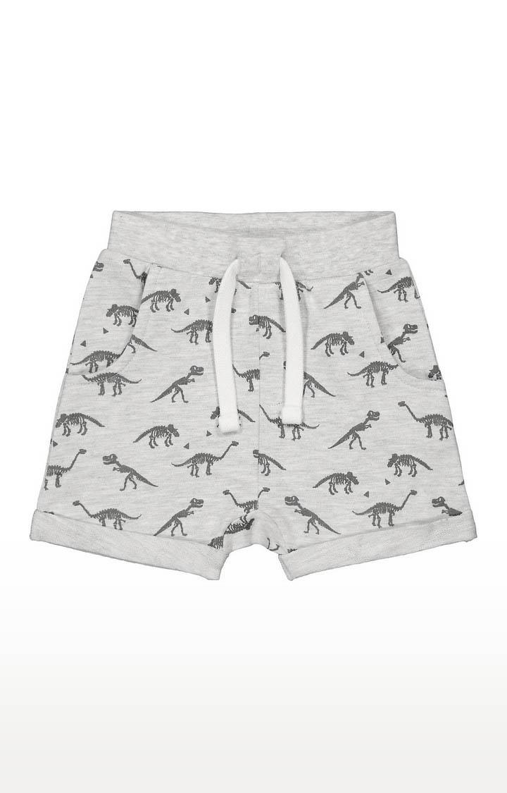 Mothercare   Boys Shorts - Printed Grey
