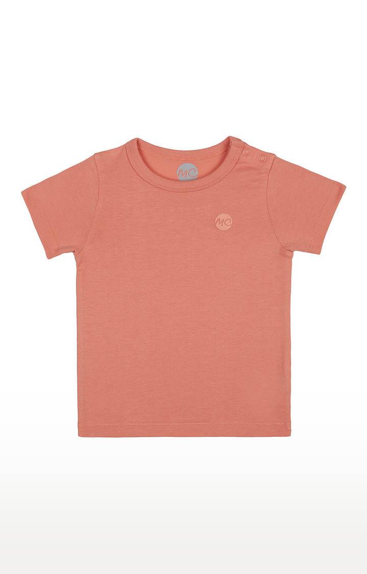 Mothercare | Boys Half Sleeve Round Neck Tee - Orange