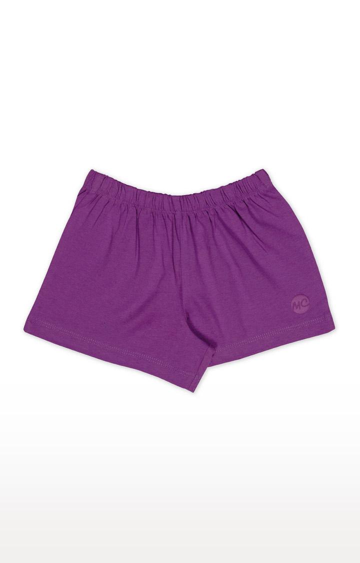Mothercare | Girls Shorts - Purple