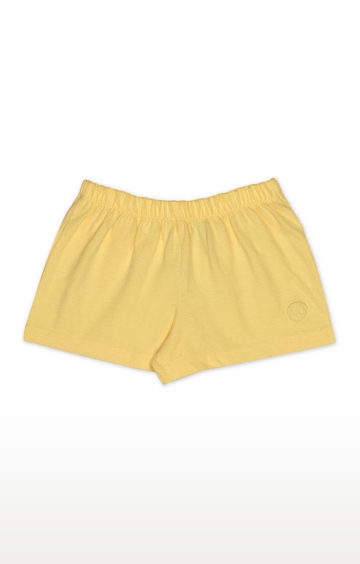 Mothercare | Girls Shorts - Yellow