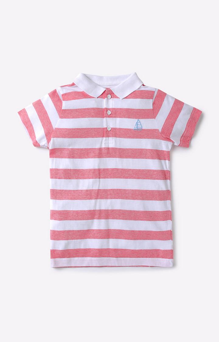 Mothercare | Red & White Boy Polo