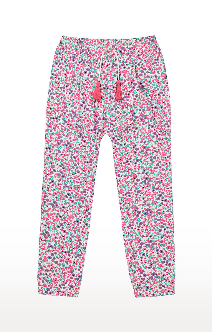 Mothercare | Girls Pants - Multicoloured