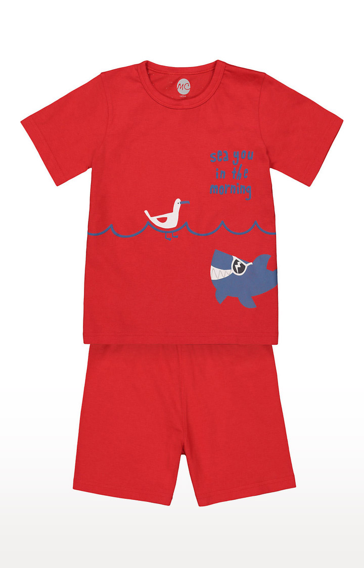 Mothercare   Boys Shortie Set - Red